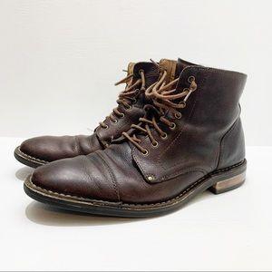 COLE HANN | Canton Cap Toe Lace-Up Boots
